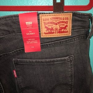 Levi's Jeans - Levi's 711 skinny painters spotted legs size 18W